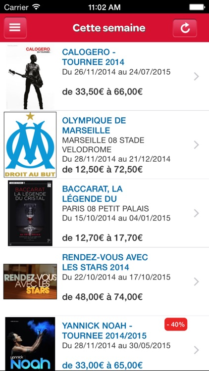 Carrefour spectacles screenshot-3