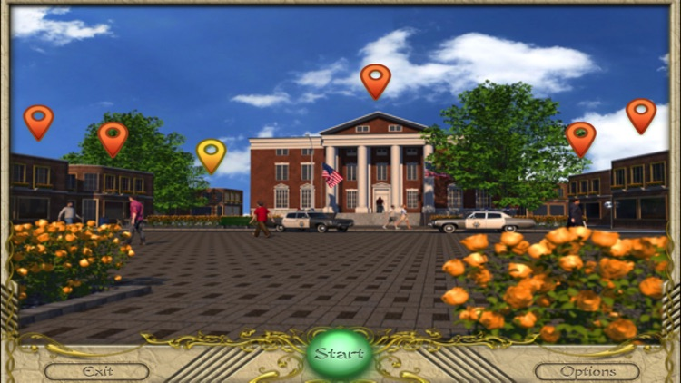 FlipPix Art - Town Square screenshot-1