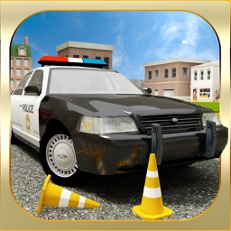 Real Cop Car Parking Simulator - City Police Truck SUV Driving Test Run 3D Game