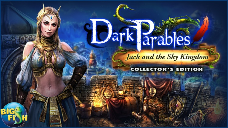 Dark Parables: Jack and the Sky Kingdom - A Hidden Object Fairy Tale screenshot-4