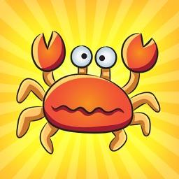 Crab King Fishing - Sea Animals Game for Kids