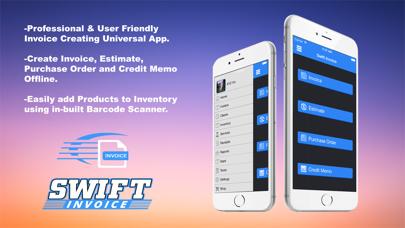 Swift Invoice Freeのスクリーンショット2