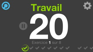 Screenshot #2 pour Fitness Intervals