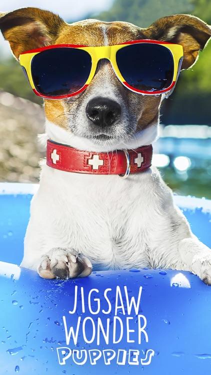 Jigsaw Wonder Puppies Puzzles for Kids screenshot-0
