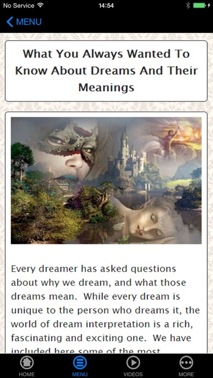 Dream Meanings - Beginner's Guide