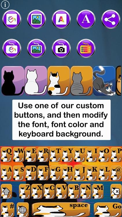 Cat Keys Free Custom Keyboard