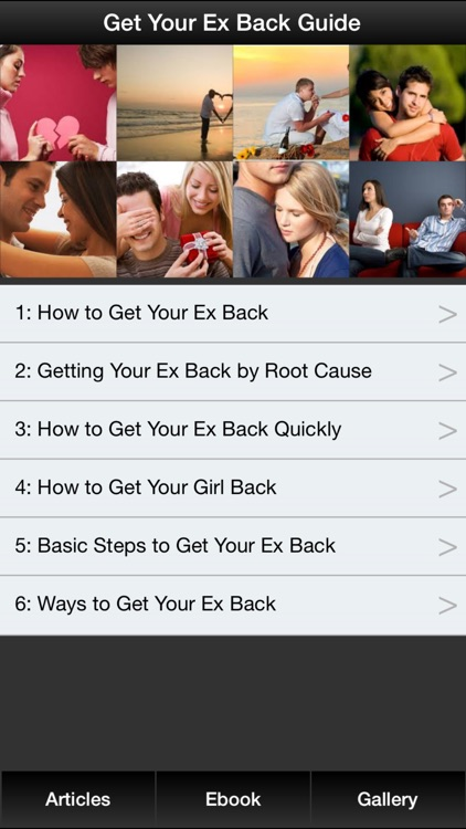 Get Your Ex Back Guide - Learn How To Get Your Ex Back