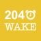 2040Wake is an alarm designed for those who both love the game 2048 and have a very hard time getting up in the morning