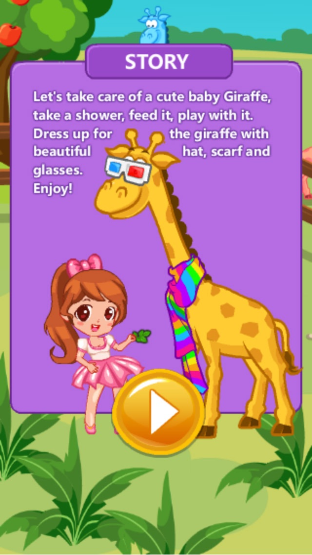 Jane Care Baby Giraffe screenshot two