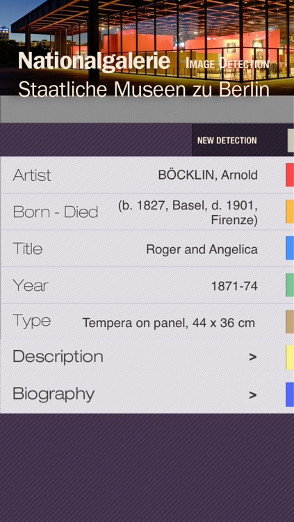National Gallery of Berlin ID Audio guide screenshot-1