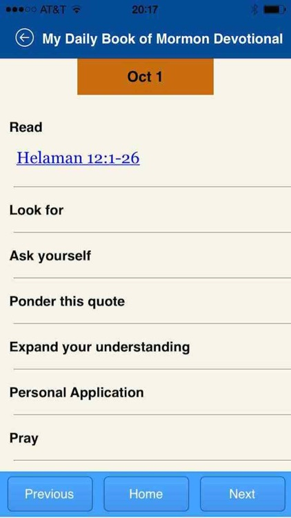 My Daily Book of Mormon Devotional screenshot-4