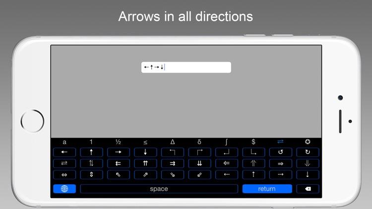 Symbol Keys - An iOS 8 Keyboard Extension screenshot-3