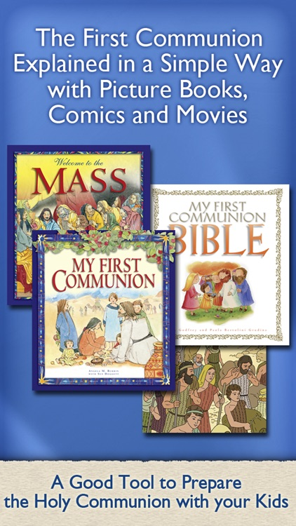 First Communion Bible – Stories, Comic Books & Movies to prepare the Holy Eucharist with your Kids, Christian Family and School