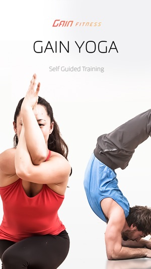 GAIN Yoga - free custom yoga routines for men & women. Screenshot