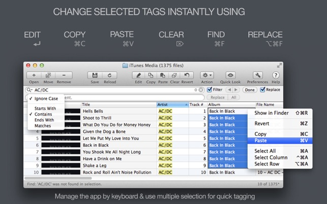 Tag Editor Free on the Mac App Store