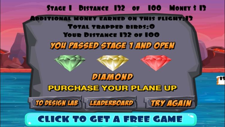 A Caveman Flying Game FREE - Troglodyte Flight Adventure