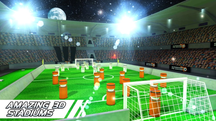 Superstar Pin Soccer - Table Top Cup League - La Forza Liga of the World Champions screenshot-3