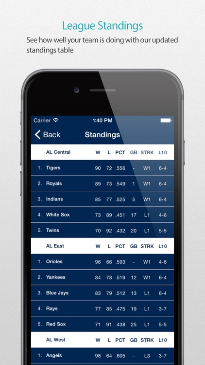 Houston Baseball Schedule Pro — News, live commentary, standings and more for your team! screenshot-3