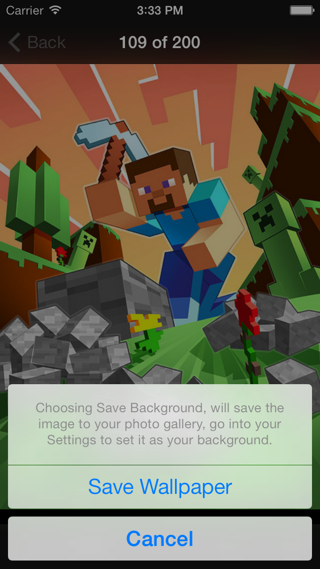 NEW Wallpapers for Minecraft Edition - Backgrounds & Mini