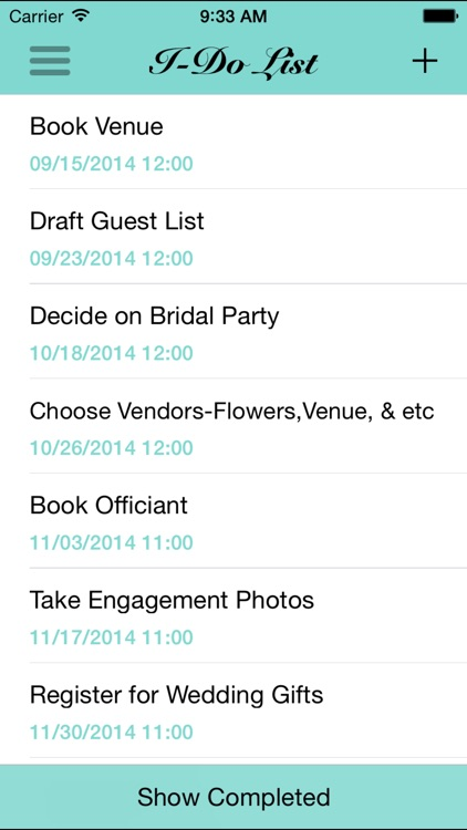 Bridal Guide Wedding Planner