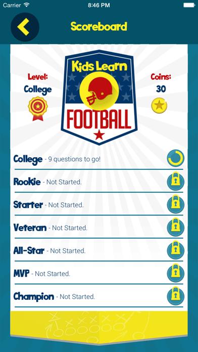 Kids Learn Football screenshot four