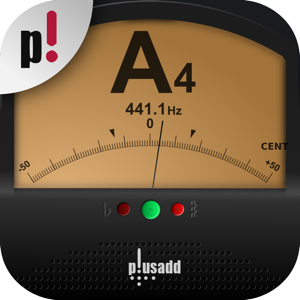 Tuner by plusadd – The Ultimate Chromatic Tuner for Guitar, Bass, Ukulele  and Violin app
