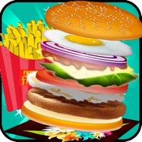 Codes for Burger Maker Chef - Cooking Games Hot Super Master Hamburger Shop Burger King Food Fever Hack