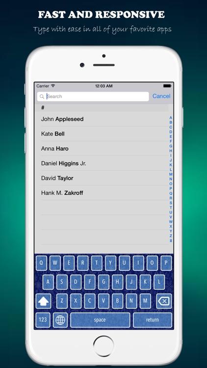 KeyVibes - Color Keyboards and Custom Themes screenshot-4