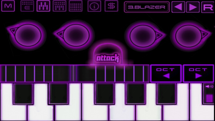 Bass Drop - Deep House - Electronic music sampler and synthesizer Screenshot