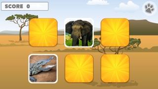 Animal Memory Matching Games for kids