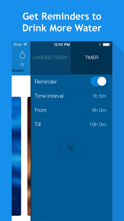 Water Balance: hydration and drinking tracker with goals and reminders screenshot-3