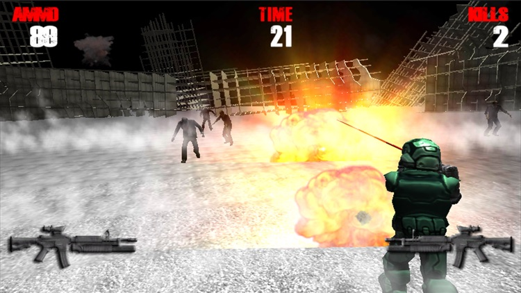 Zombie Road Mission screenshot-3