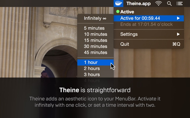 Theine Screenshot