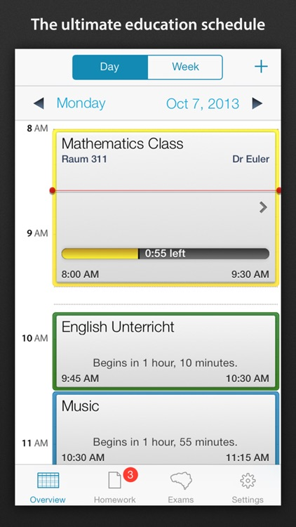 Class schedule - Your Assignment and School timetable screenshot-0