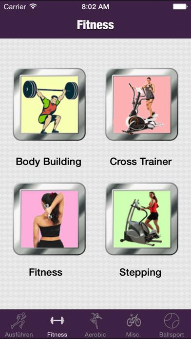 Sport KalorienrechnerScreenshot von 2