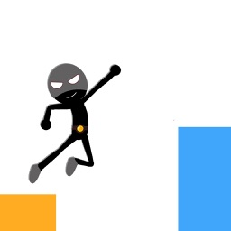 Super Stickman - smashy stickman endless tap run and jumping adventure