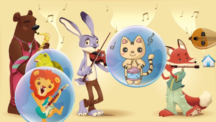 Music Bubbles for Toddlers and Kids : Musical Instruments and sounds ! FREE screenshot-4