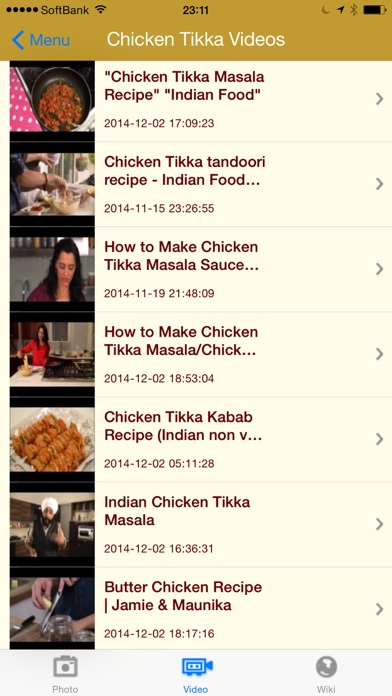 Screenshot for 印度食品 - Indian Food & Recipes in Taiwan App Store