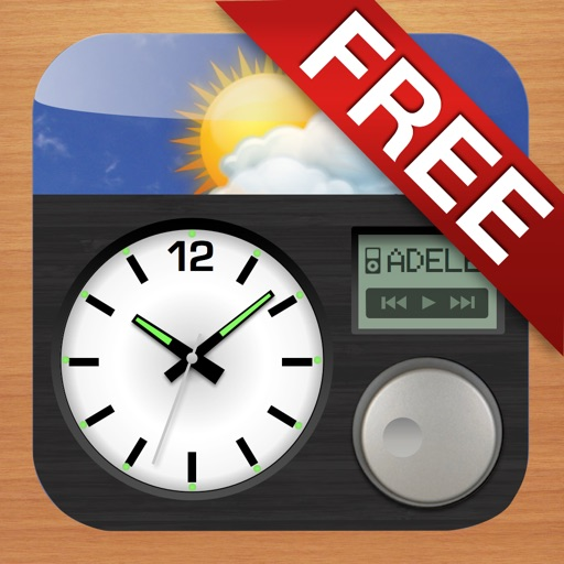 Alarm Clock & Weather HD (Free) - Digital Night Stand for iPad