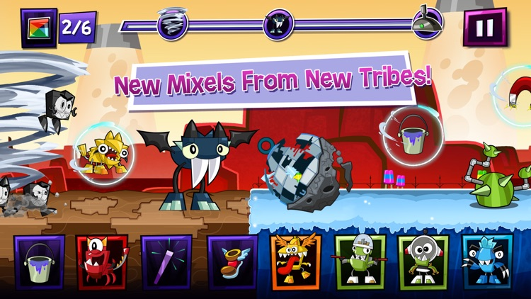 Mixels Rush - Use Mixes, Maxes and Murps to Outrun the Nixels screenshot-0