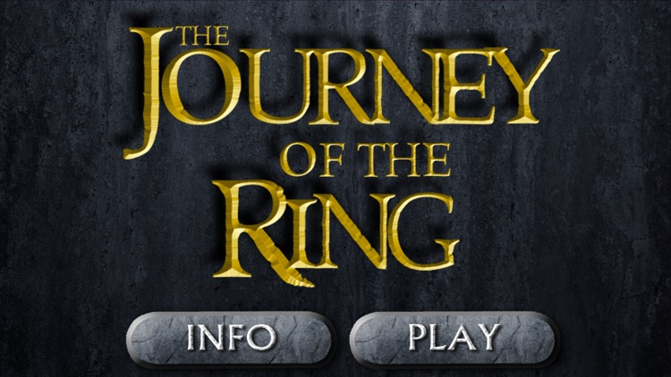 The Journey of the Ring - Lead the ring on a fantasy adventure!