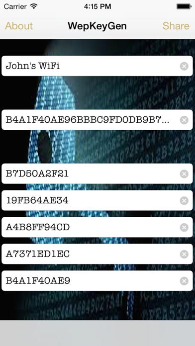 WepPro- WiFi Passwords for iOS 8のおすすめ画像2