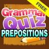 英語の前置詞文法初級フリー Prepositions Grammar Quiz Free - 小学校 Elementary