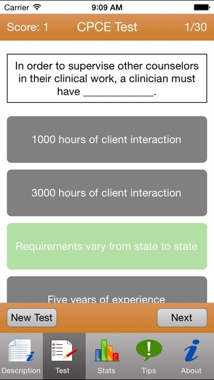 CPCE Tests screenshot-3