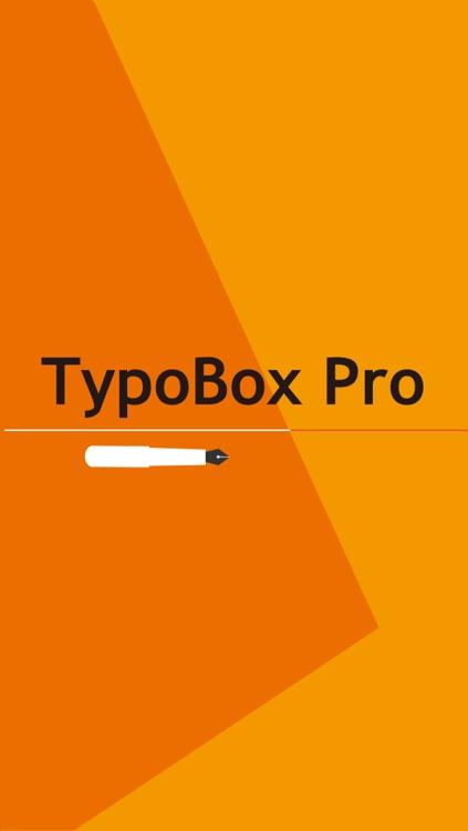 TypoBox Pro screenshot-4
