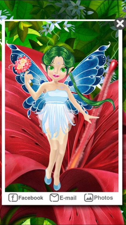 Dress Up - Flower Fairy screenshot-4