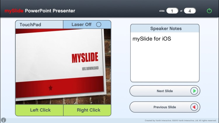 mySlide Powerpoint Presenter