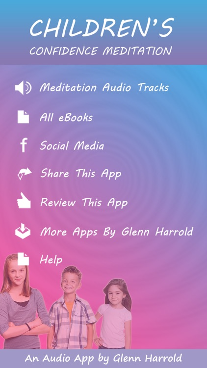Children's Confidence Meditations by Glenn Harrold: Calming Relaxations for Kids screenshot-1
