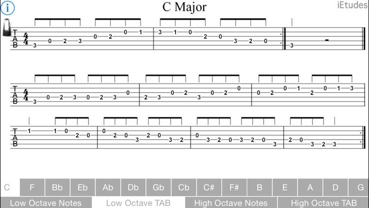 Major Scales Guitar