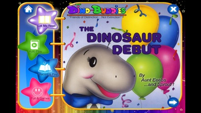 Dino-Buddies – The Dinosaur Debut Interactive eBook App